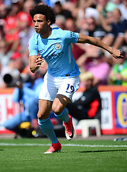 Leroy Sane of Manchester City - Mandatory by-line: Alex James/JMP - 26/08/2017 - FOOTBALL - Vitality Stadium - Bournemouth, England - Bournemouth v Manchester City - Premier League