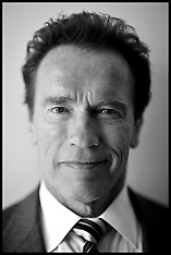 Arnold Schwarzenegger Behind the Scenes in London-March 2011
