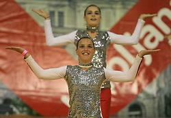 Pike, Slovenia at European Cheerleading Championship 2008, on July 5, 2008, in Arena Tivoli, Ljubljana, Slovenia. (Photo by Vid Ponikvar / Sportal Images).