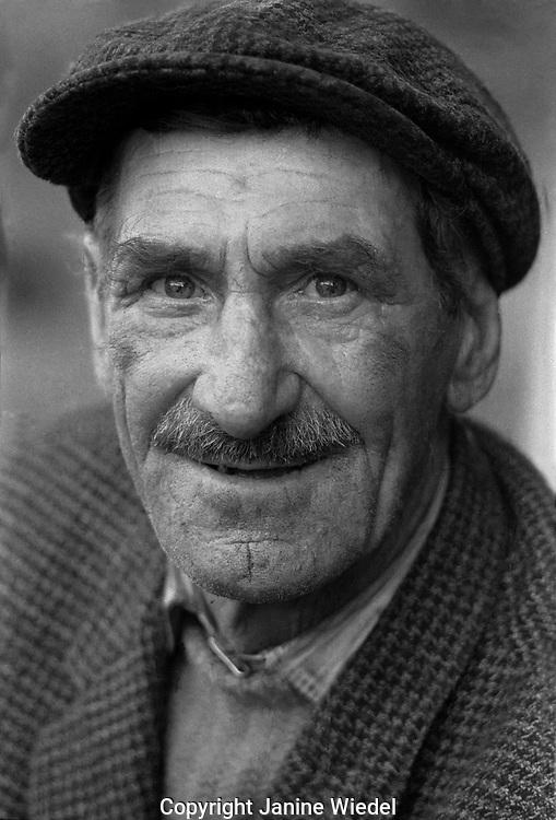 Elder Irish Tinker near Galway