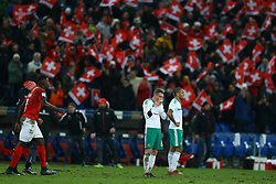 November 12, 2017 - Basel, Switzerland - FIFA World Cup Qualifiers play-off Switzerland v Northern Ireland.The disappointment of Steven Davis of Northern Ireland at St. Jakob-Park in Basel, Switzerland on November 12, 2017. (Credit Image: © Matteo Ciambelli/NurPhoto via ZUMA Press)