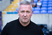 Ipswich Town manager Paul Lambert during the EFL Sky Bet League 1 match between Bolton Wanderers and Ipswich Town at the University of  Bolton Stadium, Bolton, England on 24 August 2019.