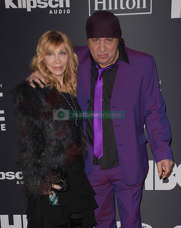 March 30, 2019 - Brooklyn, New York, USA - NEW YORK, NEW YORK - MARCH 29: Maureen Van Zandt, Steven Van Zandt attend the 2019 Rock & Roll Hall Of Fame Induction Ceremony at Barclays Center on March 29, 2019 in New York City. Photo: imageSPACE (Credit Image: © Imagespace via ZUMA Wire)