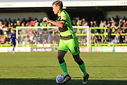 Forest Green Rovers Dayle Grubb(8) warming up during the EFL Sky Bet League 2 match between Forest Green Rovers and Cheltenham Town at the New Lawn, Forest Green, United Kingdom on 20 October 2018.