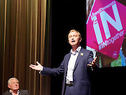 LibDems IN Europe Campaign Event at Bafta, London, Great Britain <br /> 7th June 2016 <br /> <br /> <br /> <br /> Paddy Ashdown <br /> former party leader <br /> <br /> <br /> <br /> Tim Farron <br /> Leader of the Liberal Democrats <br /> <br /> Photograph by Elliott Franks <br /> Image licensed to Elliott Franks Photography Services