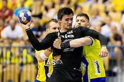 Gregor Potocnik of Gorenje  during handball match between RK Celje Pivovarna Lasko and RK Gorenje Velenje in Last Round of 1. Liga NLB 2016/17, on June 2, 2017 in Arena Zlatorog, Celje, Slovenia. Photo by Vid Ponikvar / Sportida