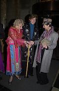 Countess Patricia Jellicoe, Morto Matysik and Lady Henrietta Rous. Voyages in the East, Asian Art. V. & A. © Copyright Photograph by Dafydd Jones 66 Stockwell Park Rd. London SW9 0DA Tel 020 7733 0108 www.dafjones.com