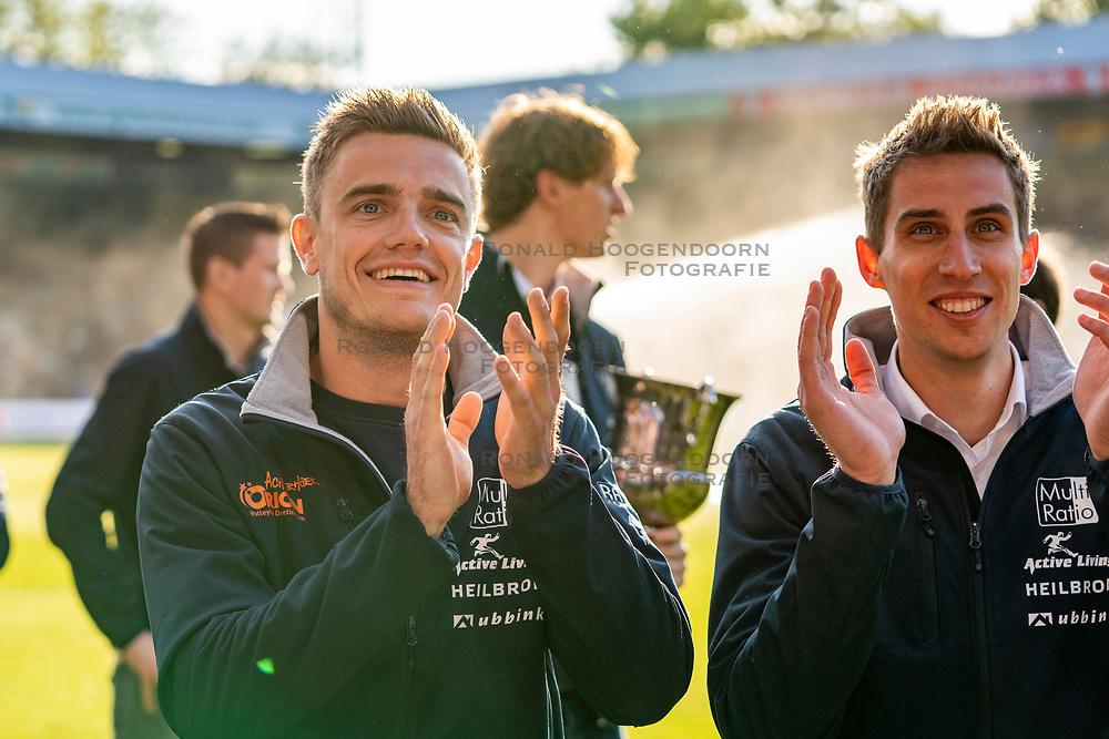 15-05-2019 NED: Huldiging Achterhoek Orion, Doetinchem<br /> Homage Achterhoek Orion advance the champion match De Graafschap - Ajax / Rob Jorna, Pim Kamps