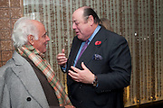 JOHN STEFANIDES; NICHOLAS SOAMES, Launch of Nicky Haslam's book Redeeming Features. Aqua Nueva. 5th floor. 240 Regent St. London W1.  5 November 2009.  *** Local Caption *** -DO NOT ARCHIVE-&copy; Copyright Photograph by Dafydd Jones. 248 Clapham Rd. London SW9 0PZ. Tel 0207 820 0771. www.dafjones.com.<br /> JOHN STEFANIDES; NICHOLAS SOAMES, Launch of Nicky Haslam's book Redeeming Features. Aqua Nueva. 5th floor. 240 Regent St. London W1.  5 November 2009.