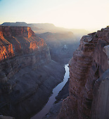 02380 Toroweap Point Grand Canyon National Park Colorado River wilderness vast rugged deep steep