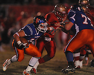Lafayette High vs. North Pontotoc at William L. Buford Stadium in Oxford, Miss. on Thursday, October 27, 2011. Lafayette High won 49-7...