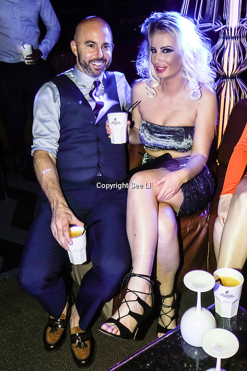 Supermodel UK glamour model agency hosts annual party, which features the presentation of Model of the Year 2016 at DSTRKT on 23rd November 2016 in London,UK. Photo by See Li