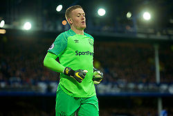 LIVERPOOL, ENGLAND - Sunday, March 3, 2019: Everton's goalkeeper Jordan Pickford during the FA Premier League match between Everton FC and Liverpool FC, the 233rd Merseyside Derby, at Goodison Park. (Pic by Laura Malkin/Propaganda)