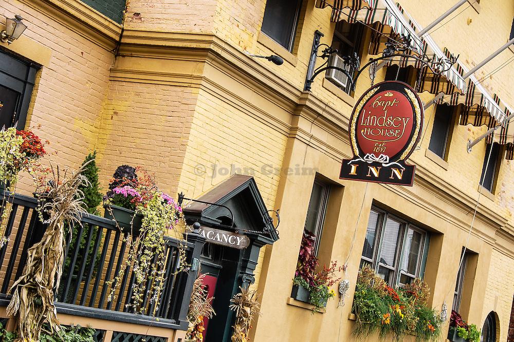 Captain Lindsey House Inn, Rockland, Maine, USA