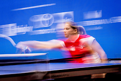 Table tennis player during day 5 of 15th EPINT tournament - European Table Tennis Championships for the Disabled 2017, at Arena Tri Lilije, Lasko, Slovenia, on October 2, 2017. Photo by Ziga Zupan / Sportida