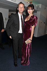 JASMINE GUINNESS and GAWAIN RAINEY at the GQ Men of the Year 2011 Awards dinner held at The Royal Opera House, Covent Garden, London on 6th September 2011.