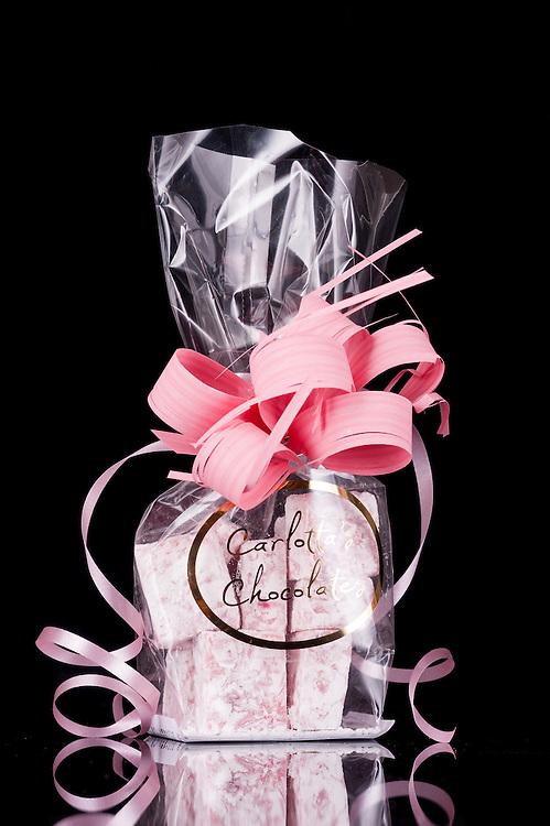 Carlotta's Chocolates, strawberry bonbon