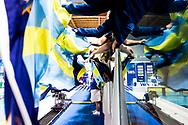 Canottieri Aniene <br /> festeggia la vittoria nella serie A1 del Campionato italiano a squadre<br /> Riccione 15-04-2018 Stadio del Nuoto <br /> Nuoto campionato italiano a squadre 2018 Coppa Brema<br /> Photo &copy; Giorgio Scala/Deepbluemedia/Insidefoto