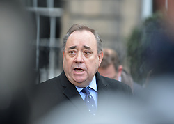Pictured: Alex Salmond outside the Court of Session following his victory.<br /> <br /> Former First Minister Alex Salmond is taking legal action against the Scottish Government over it's handling of sexual harassment allegations against the former MP and MSP. He is seeking a substantive judicial review at the Court of Session in Edinburgh, however the Scottish Government has conceded there were errors in the way the allegations were investigated, and is not contesting Mr Salmond's case.<br /> <br /> © Dave Johnston / EEm