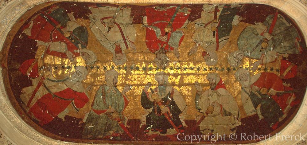 SPAIN, ANDALUSIA, GRANADA Alhambra; Salon de los Reyes