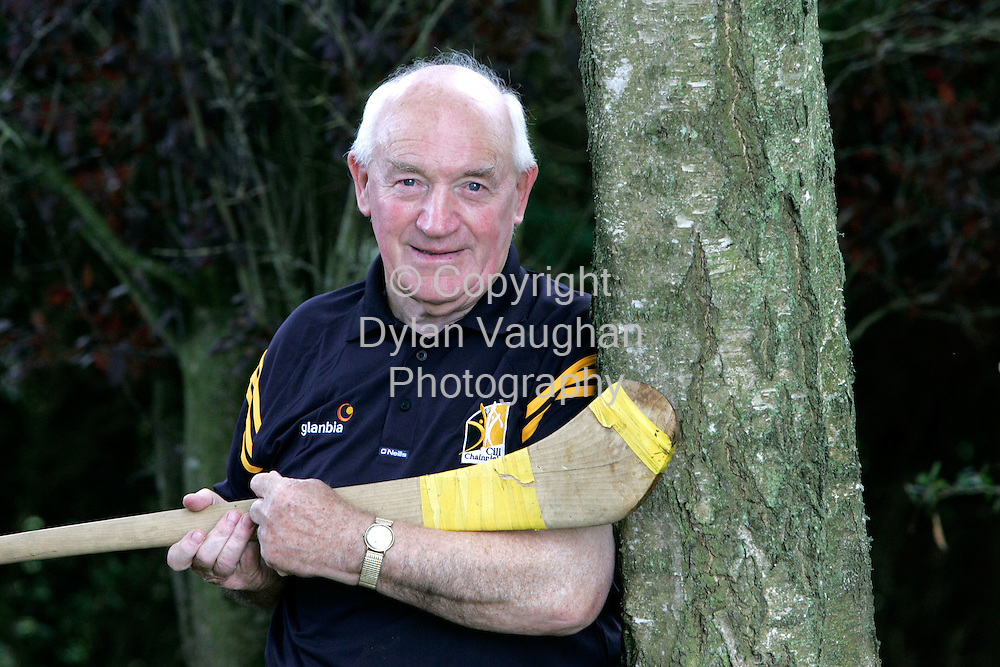 1/9/2006.Former Kilkenny captain and All Ireland Senior Hurling winner Micheal Kelly pictured at his home in Bennettsbridge County Kilkenny..Picture Dylan Vaughan.