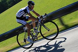 Jakob Fuglsang (DEN) of Team Saxo Bank  at 1st stage of Tour de Slovenie 2009 from Koper (SLO) to Villach (AUT),  229 km, on June 18 2009, in Koper, Slovenia. (Photo by Vid Ponikvar / Sportida)