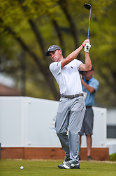 March 24, 2018 - Austin, TX, U.S. - AUSTIN, TX - MARCH 24: Justin Thomas gets ready to tee off during the quarterfinals of the WGC-Dell Technologies Match Play on March 24, 2018 at Austin Country Club in Austin, TX. (Photo by Daniel Dunn/Icon Sportswire) (Credit Image: © Daniel Dunn/Icon SMI via ZUMA Press)