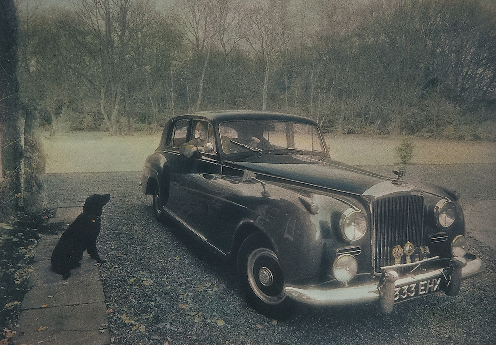 Rosemary, Her Dog, and her Bentley