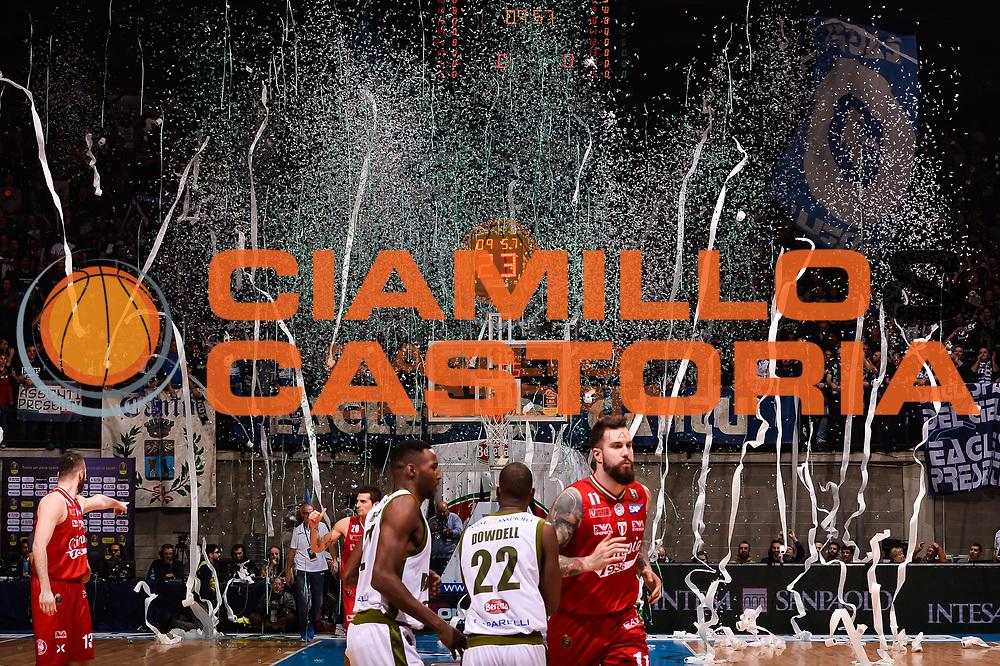 cantu tifosi<br /> Forst Cantu - EA7 Emporio Armani Olimpia Milano<br /> Lega Basket Serie A 2016/2017<br /> Desio, 10/01/2017<br /> Foto Ciamillo-Castoria