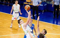 Alen Omic of Slovenia during basketball match between National team of Slovenia and Italy in First Round of U20 Men European Championship Slovenia 2012, on July 12, 2012 in Domzale, Slovenia.  (Photo by Vid Ponikvar / Sportida.com)