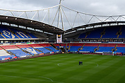 A general view inside the University of Bolton stadium before the EFL Sky Bet League 1 match between Bolton Wanderers and Milton Keynes Dons at the University of  Bolton Stadium, Bolton, England on 16 November 2019.
