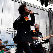 Street Sweeper Social Club performs at KROQ's Epicenter 2009 at the Fairplex in Pomona California USA