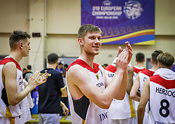 Van Slooten  Luc of Germany after the basketball match between National teams of Germany and Montenegro in the 11th place Classifications of FIBA U18 European Championship 2019, on August 4, 2019 in Portaria Hall, Volos, Greece. Photo by Vid Ponikvar / Sportida