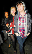 25.OCTOBER.2007. LONDON<br /> <br /> A VERY DRUNK KIMBERLY STEWART LEAVING BUNGALO 8 CLUB AT 12.30AM WITH NEW SINGER REMI NICOLE AND NICK GRIMSHAW.<br /> <br /> BYLINE: EDBIMAGEARCHIVE.CO.UK<br /> <br /> *THIS IMAGE IS STRICTLY FOR UK NEWSPAPERS AND MAGAZINES ONLY*<br /> *FOR WORLD WIDE SALES AND WEB USE PLEASE CONTACT EDBIMAGEARCHIVE - 0208 954 5968*