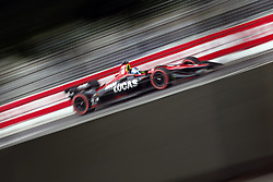 July 13, 2018 - Toronto, Ontario, Canada - ROBERT WICKENS (6) of Canada takes to the track to practice for the Honda Indy Toronto at Streets of Exhibition Place in Toronto, Ontario. (Credit Image: © Justin R. Noe Asp Inc/ASP via ZUMA Wire)