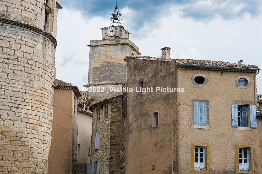 Clock Tower in Gordes, France