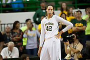 WACO, TX - DECEMBER 12:  Brittney Griner #42 of the Baylor University Bears looks down court against the Oral Roberts University Golden Eagles on December 12, 2012 at the Ferrell Center in Waco, Texas.  (Photo by Cooper Neill/Getty Images) *** Local Caption *** Brittney Griner