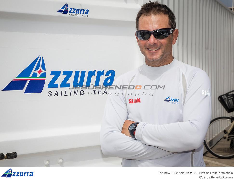 Guillermo Parada, Azzurra, TP 52