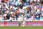 Hanuma Vihari of India batting during day 3 of the 5th test match of the International Test Match 2018 match between England and India at the Oval, London, United Kingdom on 9 September 2018.