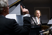 Tom Zink, Chris Wabich during a performance at Hoson House on Sunday, December 4, 2016 in Tustin, California.