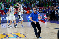 Matej Likar during the Final basketball match between National Teams  Slovenia and Serbia at Day 18 of the FIBA EuroBasket 2017 at Sinan Erdem Dome in Istanbul, Turkey on September 17, 2017. Photo by Vid Ponikvar / Sportida