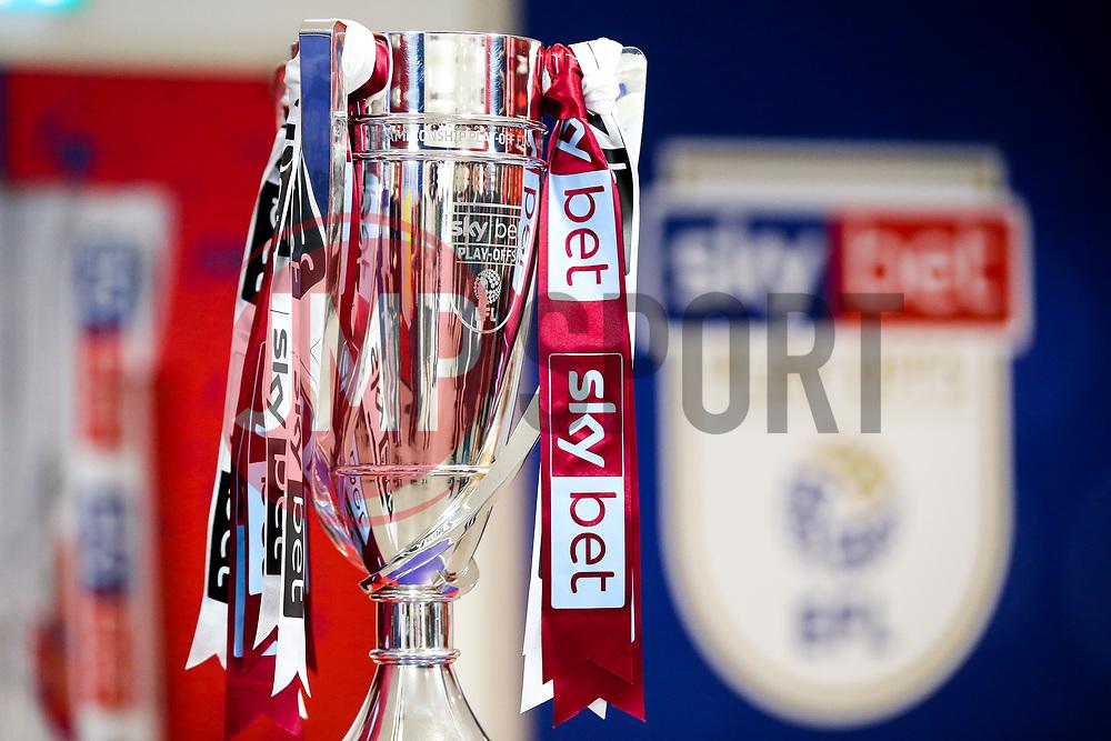 Sky Bet Championship Play-off Final Trophy - Rogan/JMP - 27/05/2019 - FOOTBALL - Wembley Stadium - London, England - Aston Villa v Derby County - Sky Bet Championship Play-Off Final.