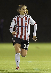 February 20, 2019 - Sheffield, United Kingdom - Veatriki Sarri (Sheffield United) during the  FA Women's Championship football match between Sheffield United Women and Manchester United Women at the Olympic Legacy Stadium, on February 20th Sheffield, England. (Credit Image: © Action Foto Sport/NurPhoto via ZUMA Press)