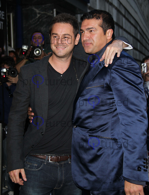 Danny Dyer;Tamer Hassan Bonded by Blood World Premiere, Odeon Cinema, Shaftesbury Avenue, London, UK, 31 August 2010: For piQtured Sales contact: Ian@Piqtured.com +44(0)791 626 2580 (Picture by Richard Goldschmidt/Piqtured)