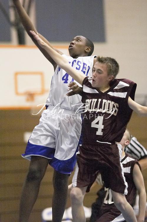 8th Grade Boys Basketball..Fourth Period..vs Luray..December 3, 2004
