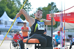 06/08/2017; de La Calleja Gallardo, Fernando, F54, MEX at 2017 World Para Athletics Junior Championships, Nottwil, Switzerland