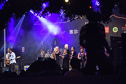 Mango Groove. Cape Town Jazz Festival Free Community Concert, 29 March 2017. Greenmarket Square. Photo by Alec Smith/imagemundi.com
