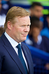 LIVERPOOL, ENGLAND - Sunday, April 9, 2017: Everton's manager Ronald Koeman before the FA Premier League match against Leicester City at Goodison Park. (Pic by David Rawcliffe/Propaganda)