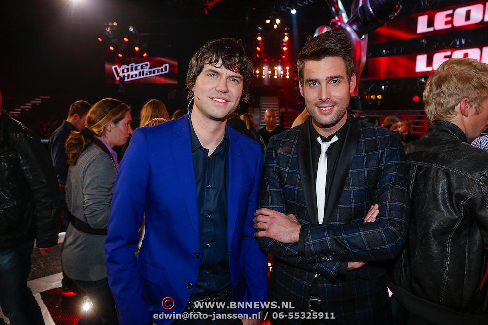 NLD/Hilversum/20121214 - Finale The Voice of Holland 2012, Nick & Simon