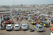 Africa's biggest market in Kumasi..Kumasi, Ghana, West Africa, Africa.© Demelza Cloke